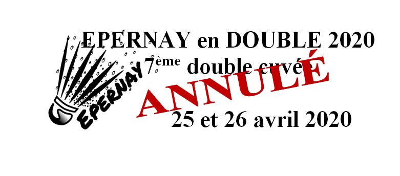 ANNULÉ - 7ème double cuvée - Epernay en Double 2020